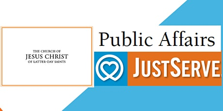 Public Affairs/JustServe Training tickets