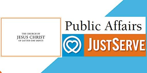 Public Affairs/JustServe Training