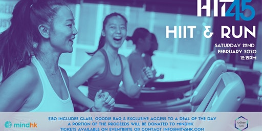 HIIT & Run: HIT45 + Wellness Week