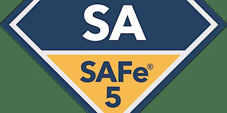 Online Leading SAFe 5.0 with SAFe Agilist(SA) Certification Little Rock, Arkansas (Weekend)  tickets