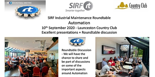 VICTAS IMRt Automation Roundtable - Launceston Country Club