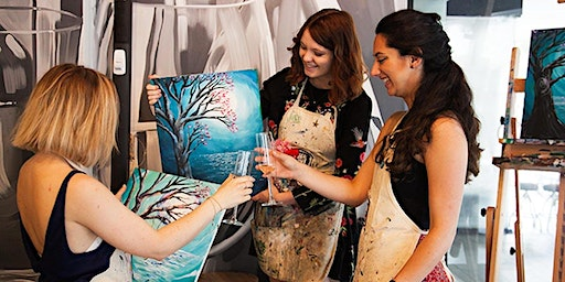 Ladies Only Live Laugh Create Painting Workshop