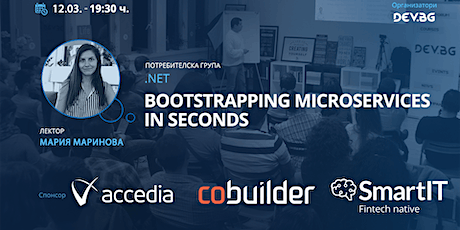 .NET: Bootstrapping microservices in seconds tickets