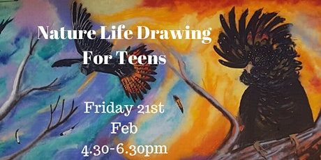 Nature Life Drawing for Teens tickets