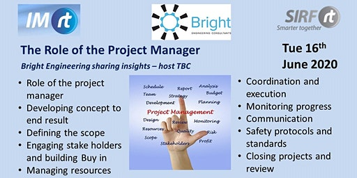 VICTAS Role of the Project Manager - Bright Engineering presenting