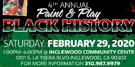 Giving Youth Opportunities Paint & Play Black History Event  tickets