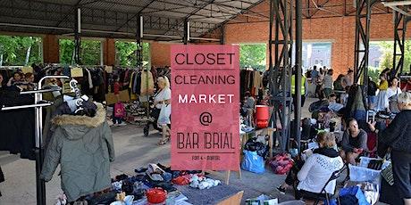 Closet Cleaning Market - Zondag 5 april 2020 - Mortsel 'Bar Brial' tickets