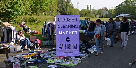 Closet Cleaning Market - Maandag 1 juni 2020 - Mortsel 'Bar Brial' tickets