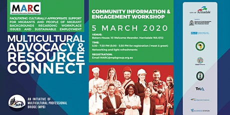 Multicultural Advocacy & Resource Connect (MARC) - Armadale tickets