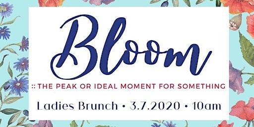 """""""Bloom"""" Ladies Brunch"""
