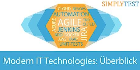 Modern IT Technologies: Überblick für Entscheider - Schulung  Tickets