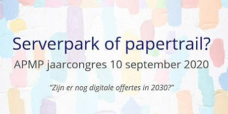 APMP NL jaarcongres 2020 tickets