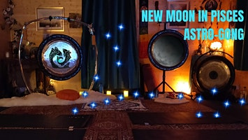New Moon Astro-Gong Bath 2pm