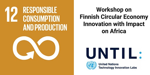Workshop on Finnish Circular Economy Innovation with Impact on Africa (E)