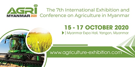 Agri Myanmar 2020 tickets
