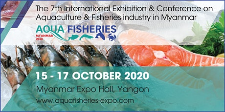 Aqua Fisheries Myanmar 2020 tickets