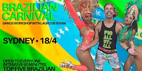 Brazilian Carnival Dance Workshop tickets