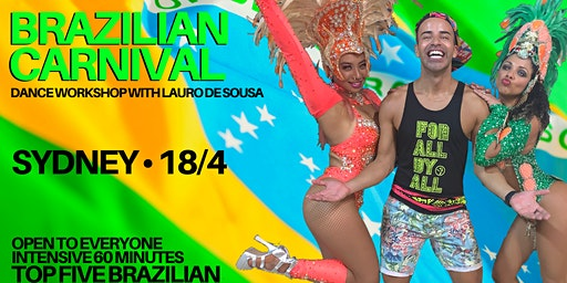 Brazilian Carnival Dance Workshop