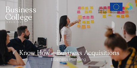 Know How - Business Acquisitions; Business Planning tickets