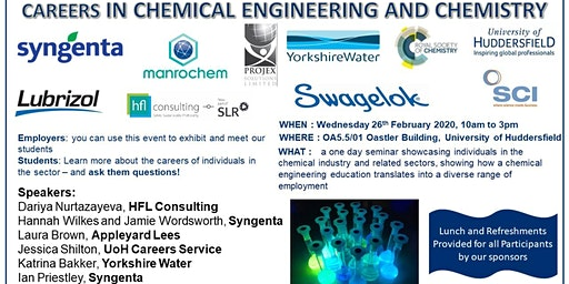 Careers In Chemical Engineering and Chemistry