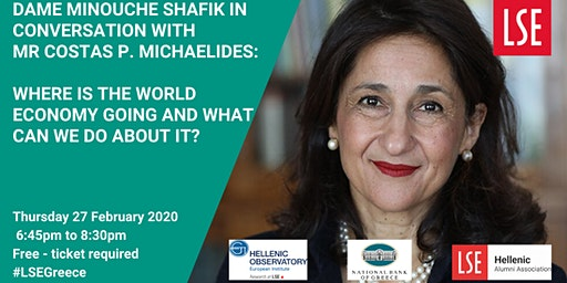 Dame Minouche Shafik in Conversation with Mr Costas P. Michaelides