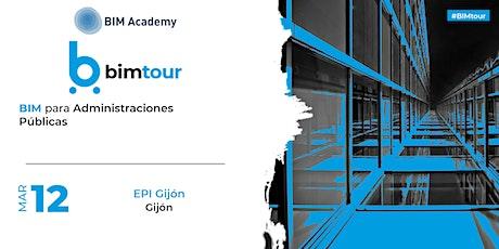 BIMtour: BIM para Administraciones Públicas en Gijón entradas