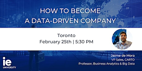 How to Become a Data-Driven Company  - Toronto tickets