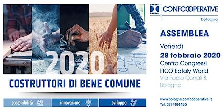 Assemblea 2020 Confcooperative Bologna tickets