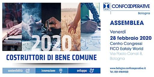 RINVIATA A DATA DA DESTINARSI Assemblea 2020 Confcooperative Bologna