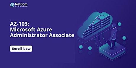 Microsoft Azure Administrator Associate (AZ-103) 4Days Training in Philadelphia , Pennsylvania  tickets