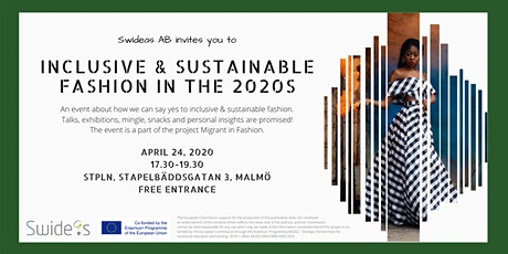 Inclusive & Sustainable Fashion in the 2020s tickets