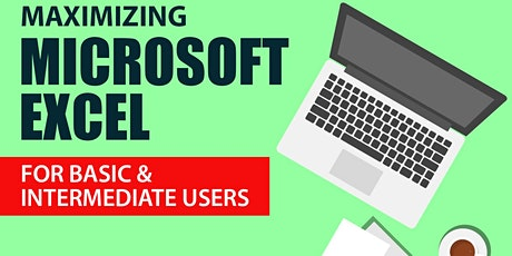 MICROSOFT EXCEL FOR BASIC & INTERMEDIATE tickets