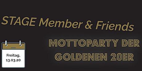 Die goldenen 20er - 1 Jahr Tanzschule STAGE & backSTAGE Tickets