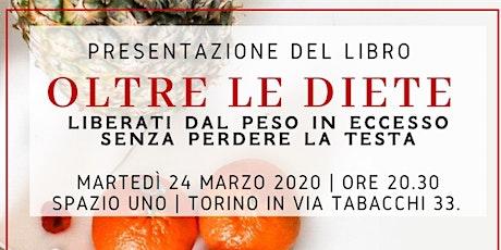 """""""Oltre le Diete"""": presentazione del libro con l'autore Gabriele Savino biglietti"""
