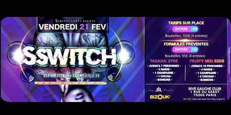 Sswitch Party LGBT & friendly tickets