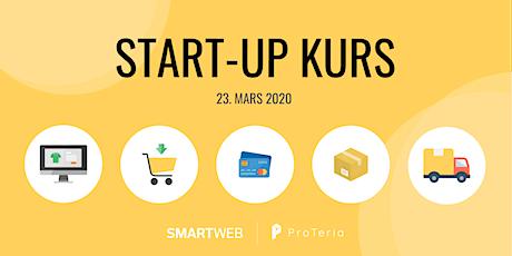 Start-up kurs med SmartWeb og ProTeria tickets