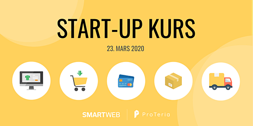 Start-up kurs med SmartWeb og ProTeria