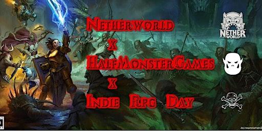 HMG x Netherworld x Indie RPG Day