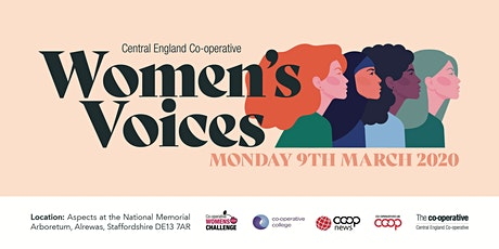 Co-operative Women's Voices 9 March 2020 tickets