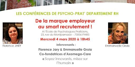 Conf RH Psychoprat : De la marque employeur au smart recrutement !