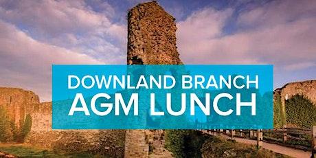 Downland Branch AGM Lunch tickets