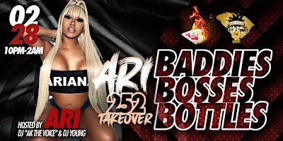 Baddies Bosses & Bottles Hosted By Ari