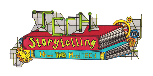 TECHStorytelling at Gants Hill Library using special video effects, 8-12yrs