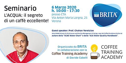 Seminario - L'ACQUA: il segreto di un caffè eccellente!