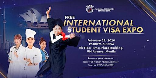 FREE INTERNATIONAL STUDENT VISA EXPO