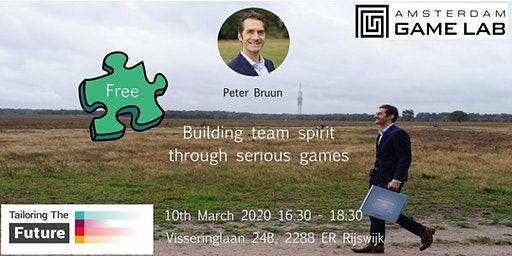 Building team spirit through serious games
