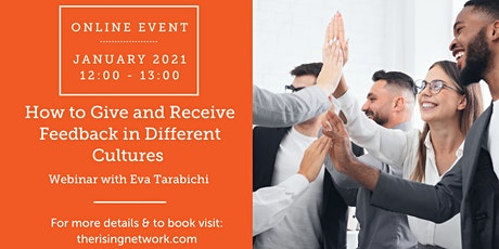 ONLINE EVENT: How to Give and Receive Feedback in Different Cultures tickets