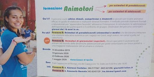 Formazione Animatori 2019/20 terza tappa