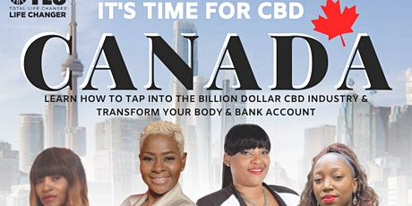 It's Time for CBD Canada! tickets