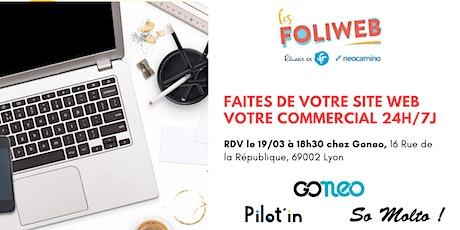 [Lyon] Faites de votre site web votre commercial 24h/7j billets